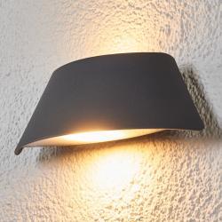 Lucande Venkovní nástěnné LED Glen, lichoběžník, IP65