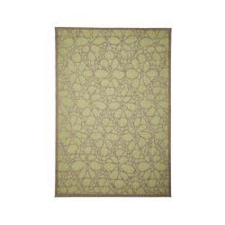 Zelený venkovní koberec Floorita Fiore, 135 x 190 cm