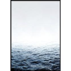Nástěnný plakát v rámu QUIET/PLACE, 50x70cm