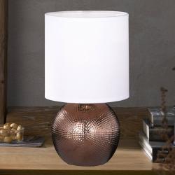 FISCHER & HONSEL Malá stolní lampa Foro snohou vměděné barvě