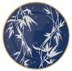 Servírovací talíř Rosenthal Heritage Turandot, modrý, Ø 33 cm