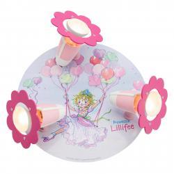 Elobra Stropní svítidlo Princezna Lillifee Rondell, 3x