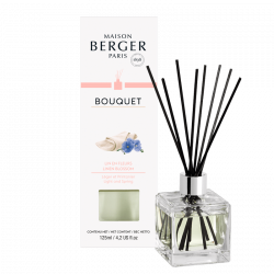 Maison Berger Paris aroma difuzér Cube, Lněný květ 125 ml
