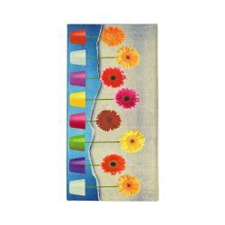 Běhoun Floorita Flower Power, 60 x 115 cm