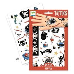 Dětské tetování Djeco Piráti