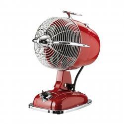 CASAFAN Stolní ventilátor RetroJet, rubínově červená