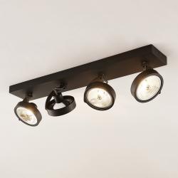 Arcchio Arcchio Dagur stropní světlo čtyřžárovkové, černé