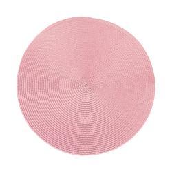AMBIENTE Prostírání 38 cm set 6 ks - sv. růžová