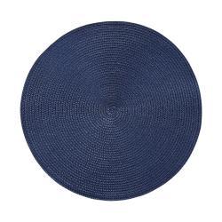 AMBIENTE Prostírání 38 cm set 6 ks - tm. modrá