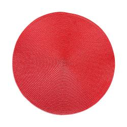 AMBIENTE Prostírání 38 cm set 6 ks - červená