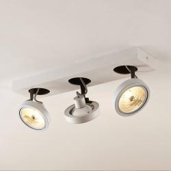 Arcchio Arcchio Jorvin stropní světlo třížárovkové, bílé