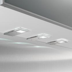 Evotec Praktické LED svítidlo do podhledů Flat I, 3 kusy
