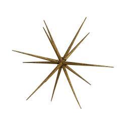 HALE BOPP Vánoční hvězda 35 cm - zlatá