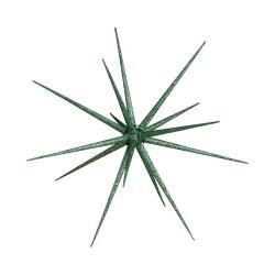 HALE BOPP Vánoční hvězda 35 cm - zelená