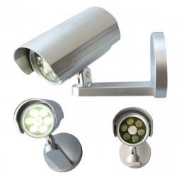 Bezpečnostní světlo/kamera se senzorem pohybu, 6 LED