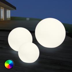 8 Seasons LED venkovní dekorační světlo Shining Globe 30 cm