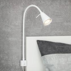 Briloner LED nástěnné světlo 2080, montáž na postel, bílá