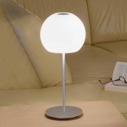 Casablanca Casablanca Ball stolní lampa, výška 49 cm