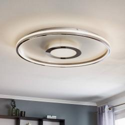 FISCHER & HONSEL LED stropní světlo Bug kulaté, chrom, 81cm