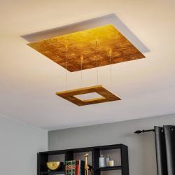 Escale Escale Zen - LED závěsné světlo s lístkovým zlatem