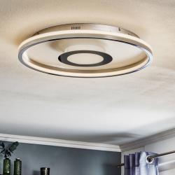 FISCHER & HONSEL LED stropní světlo Bug kulaté, chrom, 60cm