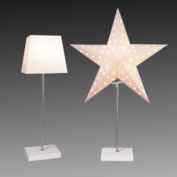 Best Season Světlo Combi Pack - hvězda a stínidlo - bílá