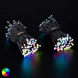 Twinkly Světelný řetěz Twinkly RGBW, 250žár. 20m černý