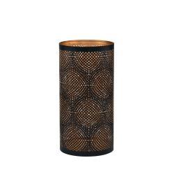 LUMINOUS Svícen s kroužky 15 cm