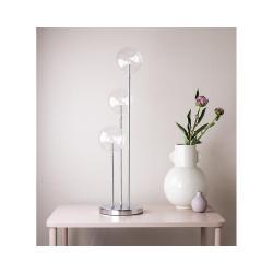 Svícen ve stříbrné barvě Markslöjd Master Trio, výška 60 cm