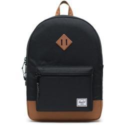 Černý batoh s hnědými detaily Herschel Heritage, 21,5 l