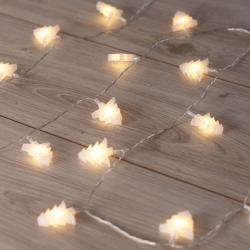 LED světelný řetěz ve tvaru stromečků DecoKing Tree, 20 světýlek, délka2,4m