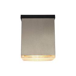 Lindby LED solární venkovní svítidlo Tyson, hranaté, čiré