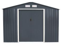 Zahradní domek plocha 277 x 255 cm (šedá)