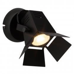 Brilliant Nást. LED světlo Movie, techn.vzhled černé