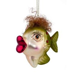 HANG ON Ozdoba rybička s vlasy