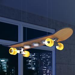 Evotec Light Cruiser – závěsné LED světlo, skateboard