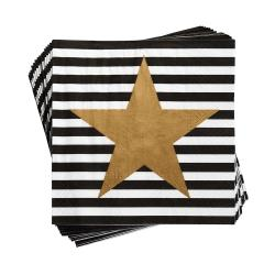 APRÈS Papírové ubrousky hvězda 20 ks