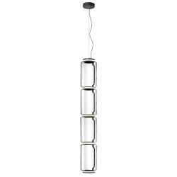 FLOS FLOS Noctambule LED závěsná lampa 4 Low Cylinders