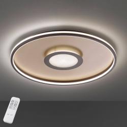 FISCHER & HONSEL LED stropní světlo Bug kulaté, rez 45cm