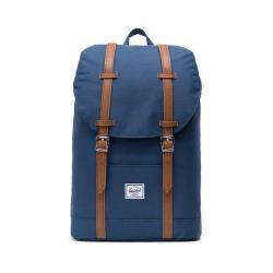Tmavě modrý batoh s hnědými popruhy Herschel Retreat, 19,5 l