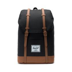 Černý batoh s hnědými detaily Herschel Retreat, 19,5 l