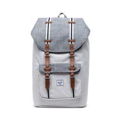 Světle šedý batoh Herschel Little America, 25 l