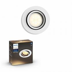 Philips Hue 50411/31/P9 LED zápustné svítidlo Milliskin 1x5,5W | GU10 | 2200-6500K - Bluetooth, inteligentní