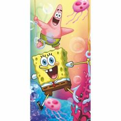 Jerry Fabrics Osuška Sponge Bob 012, 70 x 140 cm