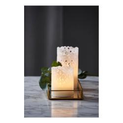 LED svíčka Best Season Clary, výška 15 cm
