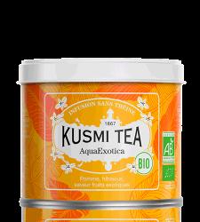 Sypaný bio organický ovocný čaj Kusmi Tea AquaExotica, 100 g