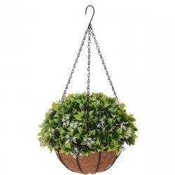 Umělá květina v závěsném květináči Blaire, 20 cm
