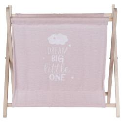 Úložný košík Child's dream růžová, 32 x 30 cm