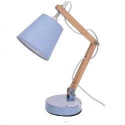 Stolní lampa Pastel tones modrá, 45 cm