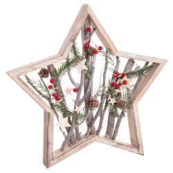 Vánoční dekorace Unimasa Star Trunks, ø48cm